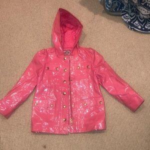 JUICY COUTURE Girls Waterproof Raincoat